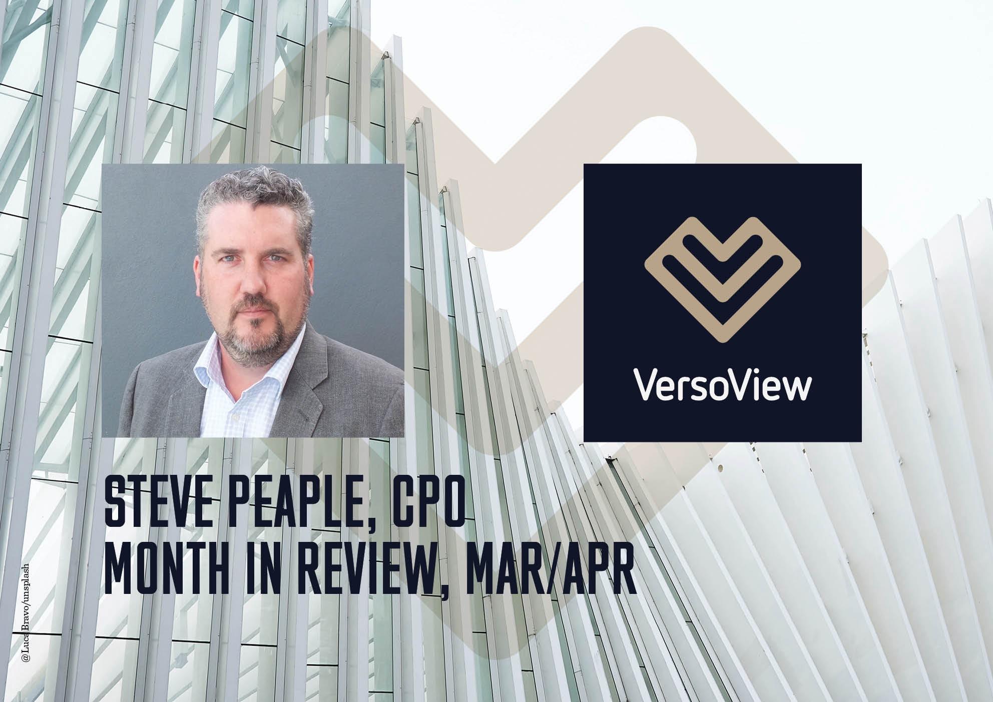VersoView Steve Peaple