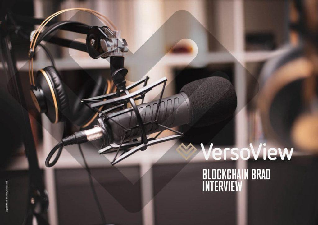 VersoView Blockchain Brad Laurie
