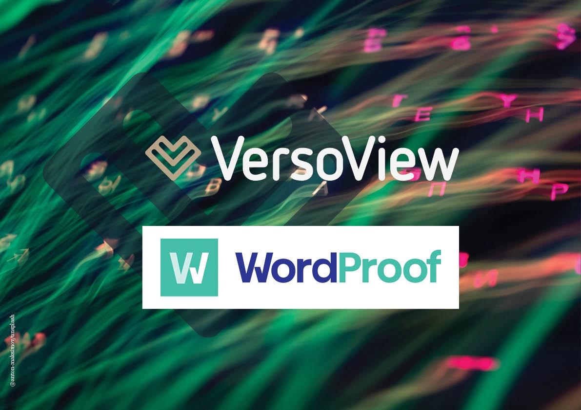 VersoView Wordproof